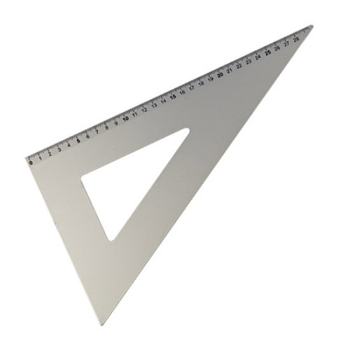 cbb632915c Squadra alluminio 60° - 35 cm